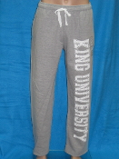 KU Fleece Pant - Gray