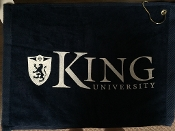 King University Golf Towel
