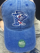 King University American Hat - Royal Blue Trucker