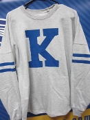 King University Varsity Crew Neck Sweatshirt