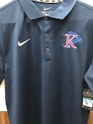 King University Nike Polo - DriFit