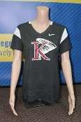 Womens Fan V Tee - Nike - King University