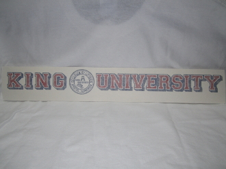 King University Vinyl Decal