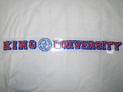 King University Static Decal with Seal