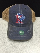 KU Blue Trucker Hat
