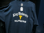KU Nursing T-Shirt Blue