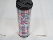 King University Plaid Mug