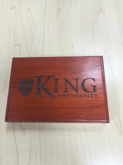 King University Business Card Holder