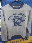 "King University ""Retro"" Crew Neck Sweatshirt"