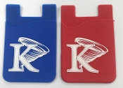 KU Cell Phone Card Holder