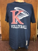 Volleyball Athletic Tee 2018