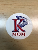 KU Mom Sticker