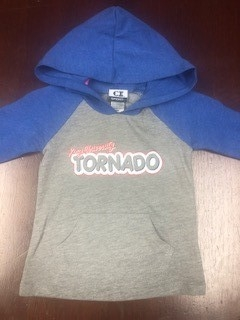 Infant Hoodie T Shirt - Blue